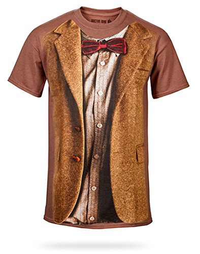 11th Doctor Costume Fez (Doctor Who 11th Doctor Adult Costume T-Shirt XXXL)