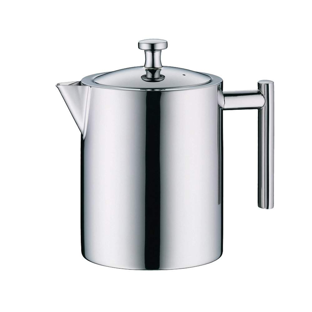 Alfi Teapot with integrated Stainless Steel Strainer, Dishwater Proof, Stainless Steel, Break-resistent, 1.4 Liter, 2109000140