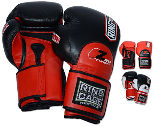 Ring to Cage ZroTwist Deluxe MiM-Foam Sparring Gloves 3.0- Safety Strap for Boxing, MMA, Muay Thai, Kickboxing