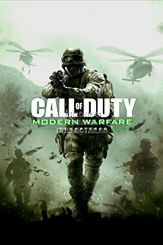 Cgc Huge Poster   Call Of Duty Modern Warfare Remastered Ps4 Ps3 Xbox One   Ext372  24 X 36  61Cm X 91 5Cm   By Cgc Huge Poster