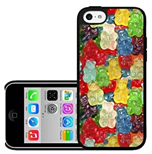MMZ DIY PHONE CASECovered in Colorful Gummy Bears Candy Favorite Snack Hard Snap on Phone Case (iphone 6 4.7 inch)