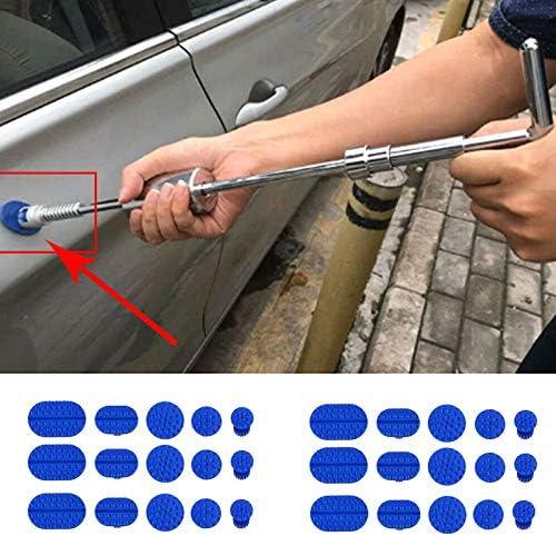 Du/šial Car Body Paintless Dent Puller Tabs Remover Repair Tool Set for Hail Damage Door Ding