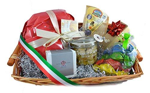 Parma (Italy) Basket gourmet Christmas - RIGOLETTO Italian Christmas Hamper