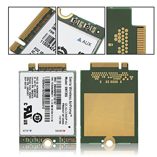 fosa EM7355 100Mbps + 50Mbps 4G LTE FDD NGFF M.2 Wireless Module Card PC/Laptop by fosa (Image #5)