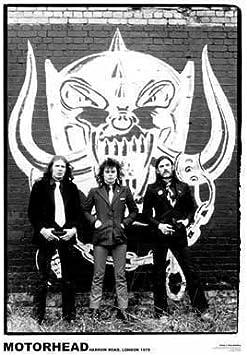 rock Lemmy Motorhead Icon Poster rock music poster Heavy metal