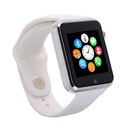 Sudroid Smart Watch Phone Bluetooth Smartwatch with 16GB TF Card and Wrist Watch for Android Samsung S5 S6 Note 4 Note 5 HTC Sony LG and iPhone 5 5S 6 ...