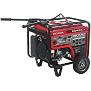 Honda 655770 4,000 Watt Industrial Portable Generator w/ iAVR Technology (CARB)