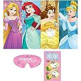 """Amscan Disney Princess Dream Big Birthday Party Game (3 Piece), Multicolor, 37 1/2"""" x 24 1/2"""""""