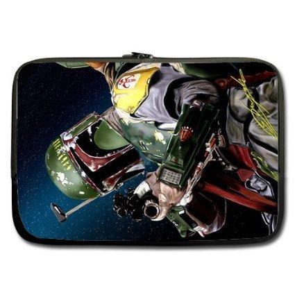 refreshus Star Wars Boba Fett personalizado funda ordenador funda blanda para MacBook Pro 15 pulgadas (
