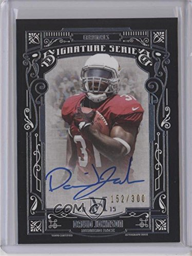 David Johnson #152/300 (Football Card) 2015 Topps Museum Collection - Signature Series #SSA-DJO (Collection Ssa)