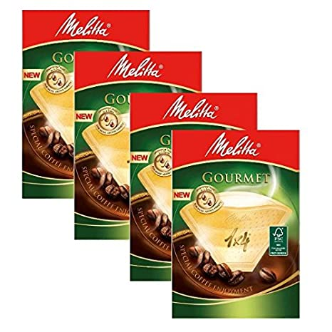 8 BOXES of Melitta Size 1x4 Gourmet Coffee Filters Pack of 80