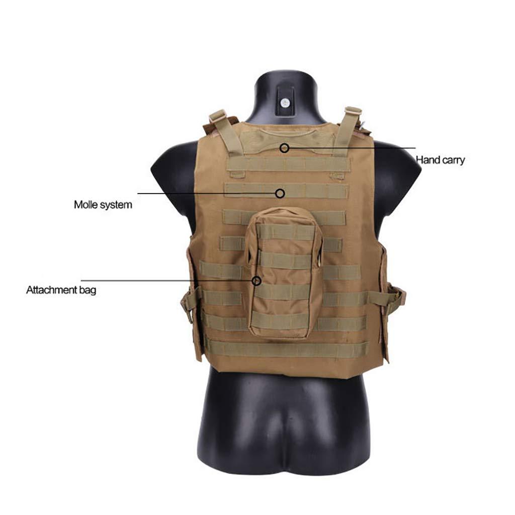 ZS-BX-Chaleco táctico Al Aire Libre Molle Tactical ...
