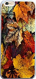 Autumn Leaves I Dream Of The Change Of Seasons For iPhone 6 Plus Case Plastic Case Cover iPhone 6 Plus Case ngub iPhone 6 wangjiang maoyi