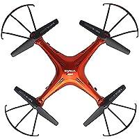 FPV Drone, Akaddy SYMA X5SC 2.4G 4CH 6-Axis Gyro FPV Drone RC Quadcopter with 2MP HD Camera(Red)