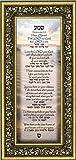 Shema Prayer, Jewish Prayer for the Home, Deuteronomy 6:4-9 with Hebrew translation, 6x12 7749G