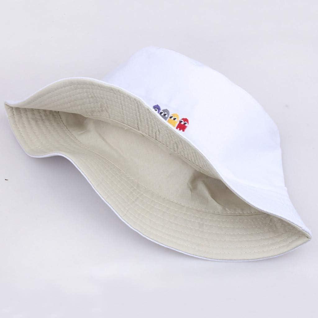 XGao Bucket Hats for Women Bucket Hat Bucket Hat Unisex 100/% Cotton Packable Summer Travel Beach Sun Outdoor Cap Pattern Fisherman Hats Reversible Bucket Hats for Men