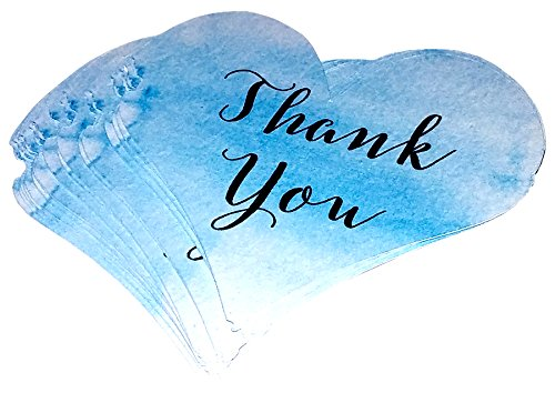 Amazon business thank you cards heart shaped cards blue business thank you cards heart shaped cards blue thank you card small colourmoves