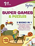 First Grade Super Games and Puzzles (Sylvan Super Workbooks), Sylvan Learning, 0804124493