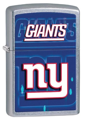 Personalized Zippo Lighter NFL New York Giants - Free Laser