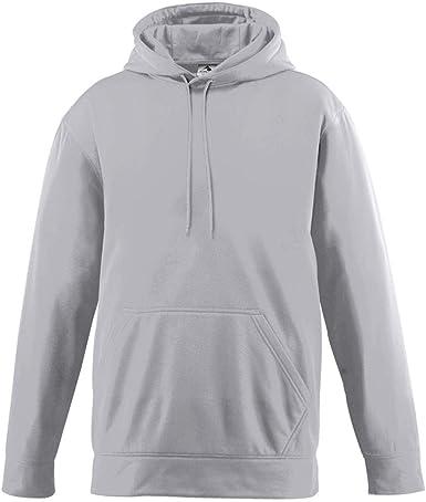 Power Blue Augusta Sports Wicking Fleece Hooded Sweatshirt Small