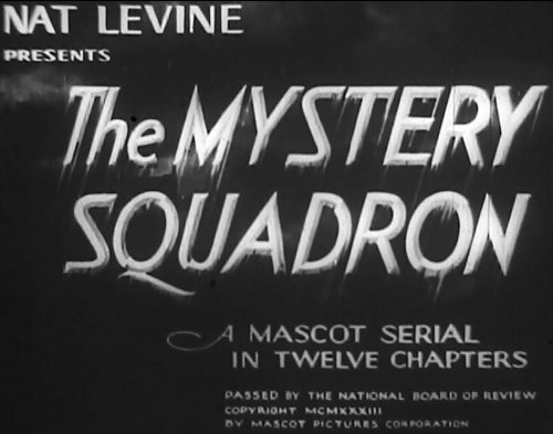 Mystery Squadron, Old Films 1933 12 Chapter Movie Serial 2 Disc set DVD by Aviators - Movie Online Aviator