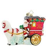 Christopher Radko Hold Your Horses, Santa! Christmas Ornament
