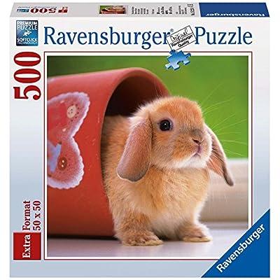 Ravensburger 15223 Puzzle Quadrato Dolce Coniglietto 500 Pezzi