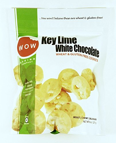 Key Lime White Chocolate Bagged Cookies: 8 oz