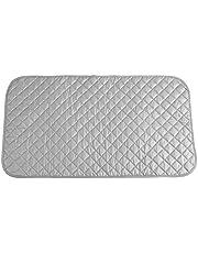 Leyeet Strykmatta, bärbar hopfällbar strykdyna matta filt för bordsskiva och resor användbar accessoar