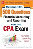 img - for McGraw-Hill Education 500 Financial Accounting and Reporting Questions for the CPA Exam (McGraw-Hill's 500 Questions) by Frimette Kass-Shraibman (2014-10-29) book / textbook / text book