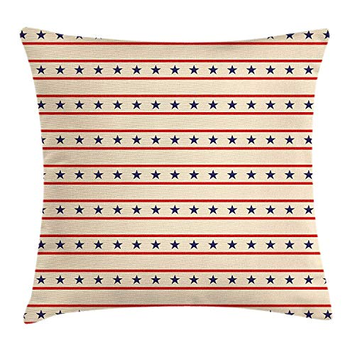 WEWELA Primitive Country Decor Throw Pillow Cushion Cover, H