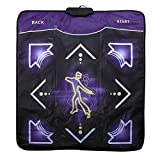 sliding dance step - Light Up Non-slip Dance Mat Rhythm and Beat Game Dancing Step Pads USB Lose Weight Pads Dancer Blanket with USB for PC Laptop