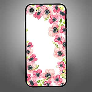 iPhone 8 Pink Flowers Pattern