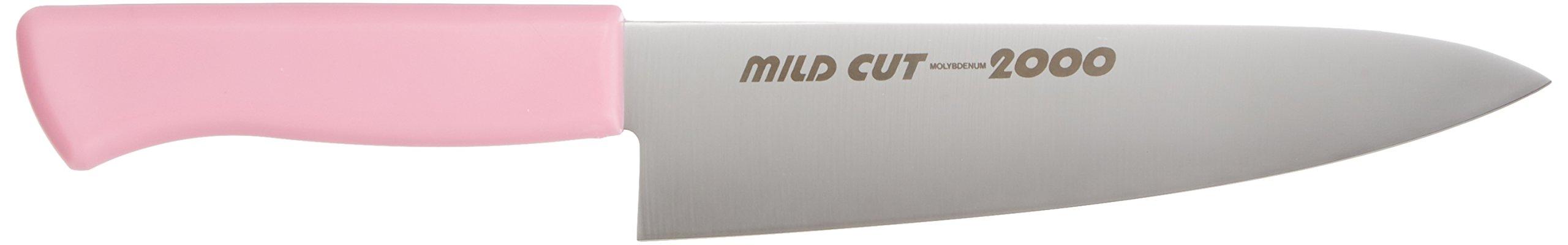 EBM MILD CUT-2000 color knife Gyuto MCG 18cm Pink