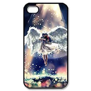 ALICASE Diy Customized hard Case Fantasy Angel For Iphone 4/4s [Pattern-1]