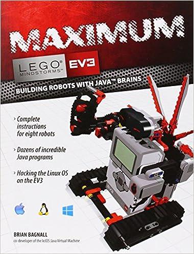 Maximum lego ev3 building robots with java brains lego maximum lego ev3 building robots with java brains lego mindstorms ev3 brian bagnall 9780986832291 amazon books sciox Gallery