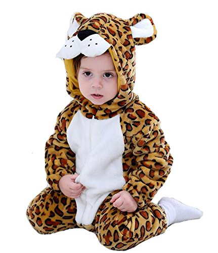 Tonwhar Toddler Infant Tiger Dinosaur Animal Fancy Dress Costume (100(Height:31
