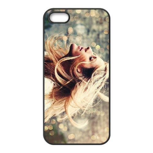 Ellie Goulding 003 coque iPhone 4 4S cellulaire cas coque de téléphone cas téléphone cellulaire noir couvercle EEEXLKNBC24839