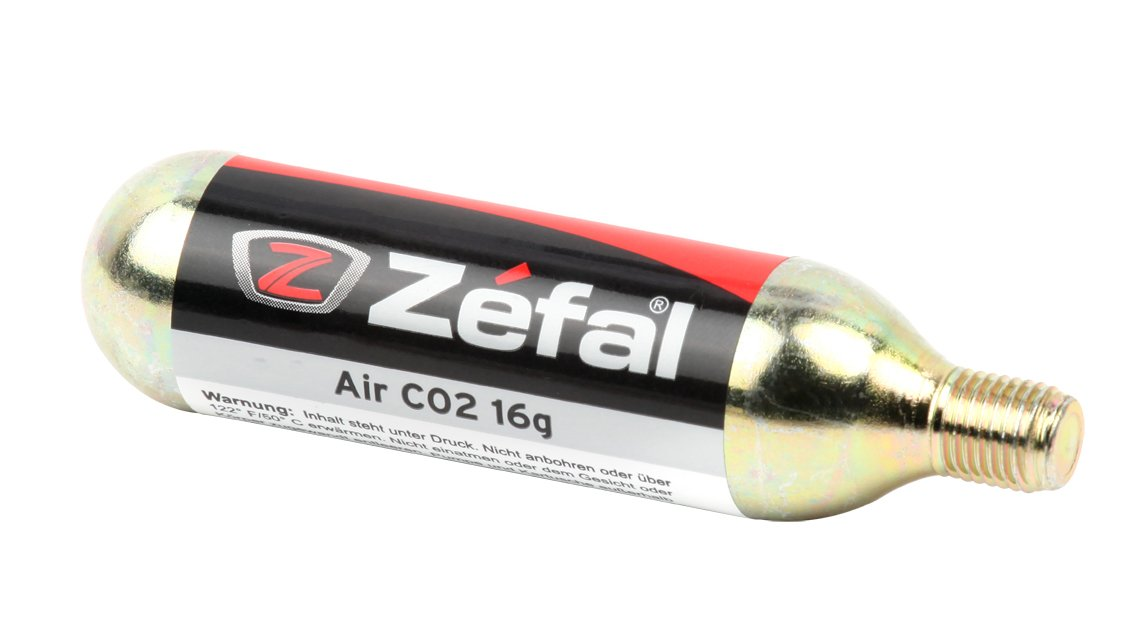 ZEFAL Co2 - Bomba de CO2 para Bicicletas, Color Dorado, Talla 16 g ...