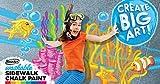 RoseArt Washable Sidewalk Chalk Paint, Big Super