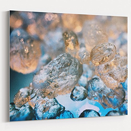 Westlake Art - Water Ball - 8x10 Canvas Print Wall Art - Canvas Stretched Gallery Wrap Modern Picture Photography Artwork - Ready to Hang 8x10 Inch (Gemstone Art)