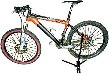 Caballete bicicleta BITEK taller plegable: Amazon.es: Deportes y ...