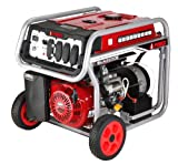 Cheap A-iPower SUA8250E 8250W Gasoline Powered Portable Generator with Electric Start, Black/Red