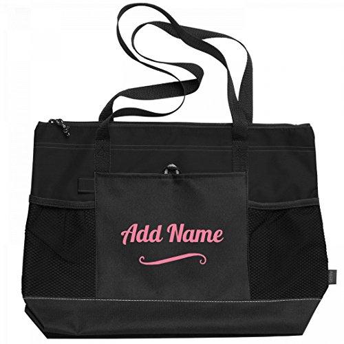 gned Bag: Gemline Select Zippered Tote Bag (Custom Beach Bags)