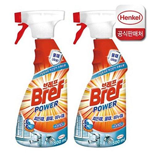 Bref Power-hsc Bathroom Cleaner, Spray Bottle, For Bathroom 2er Pack (2 X 500 Ml) / Bathroom / Toilet / Tile / Sink / Bath / Soap / Washing / Wc / Household / Office / Public Institution / Company Picture