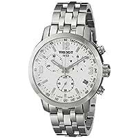 Tissot Men's T0554171101700 PRC 200 Silver-Tone Stainless Steel Watch