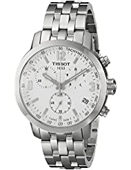 Tissot Mens T0554171101700 PRC 200 Silver-Tone Stainless Steel Watch