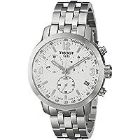 Men's T0554171101700 PRC 200 Silver-Tone Stainless Steel Watch