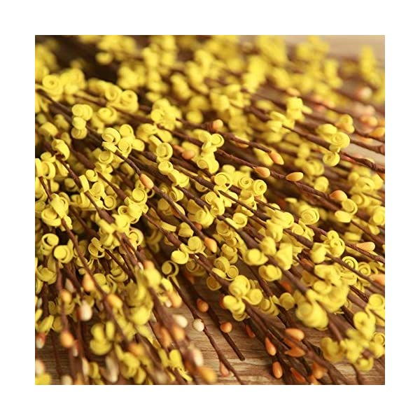 MISSWARM-10-Pieces-295-Long-of-Jasmine-Artificial-Flower-Artificial-Flowers-Fake-Flower-for-Wedding-Home-Office-Party-Hotel-Restaurant-Patio-or-Yard-Decoration-Yellow