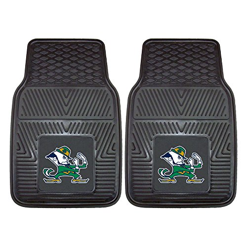 FANMATS NCAA Notre Dame Fighting Irish Vinyl Heavy Duty Car Mat